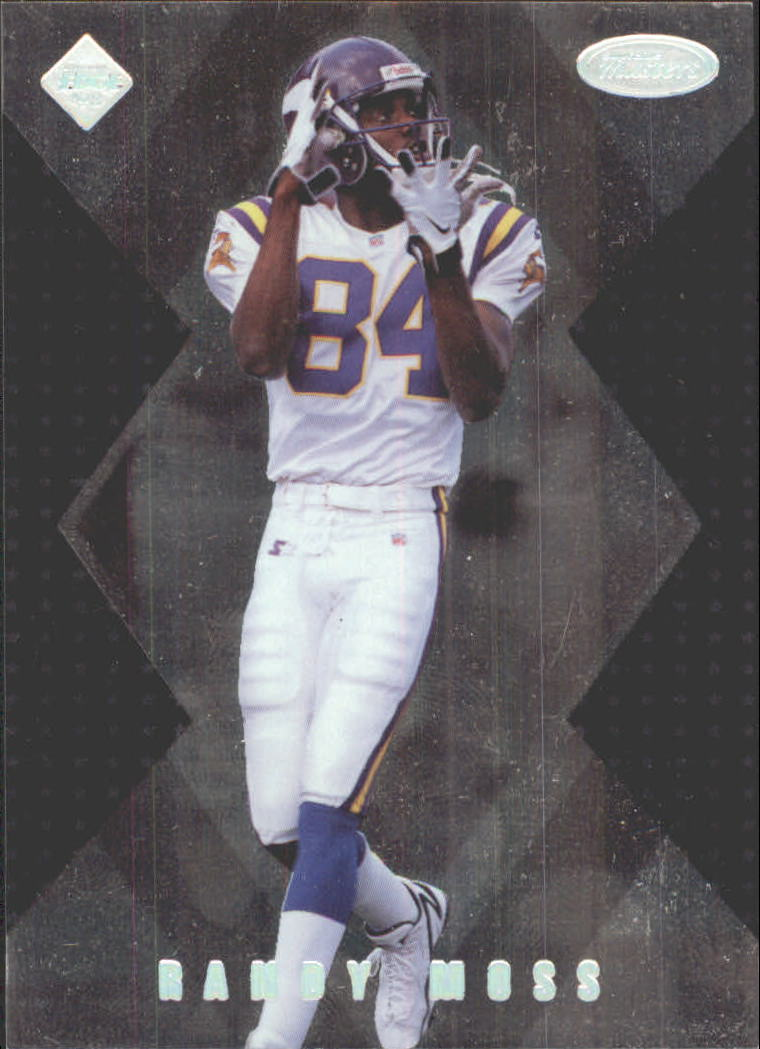 1998 Collector's Edge Masters 50-point #186 Randy Moss SM