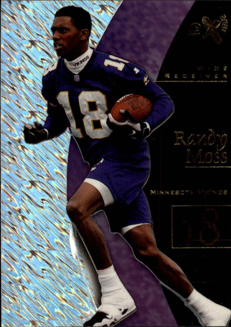 1998 E-X2001 #55 Randy Moss RC