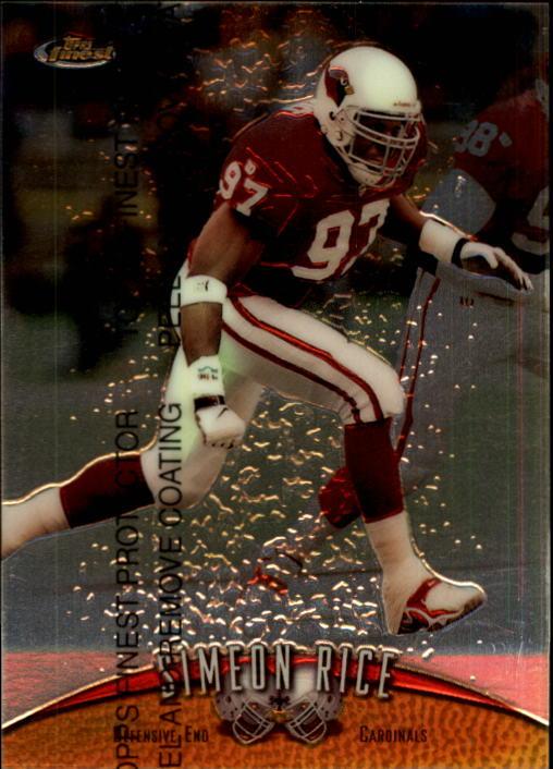 1998 Finest #5 Simeon Rice