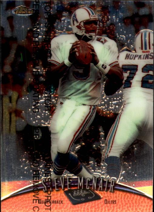 1998 Finest #84 Steve McNair