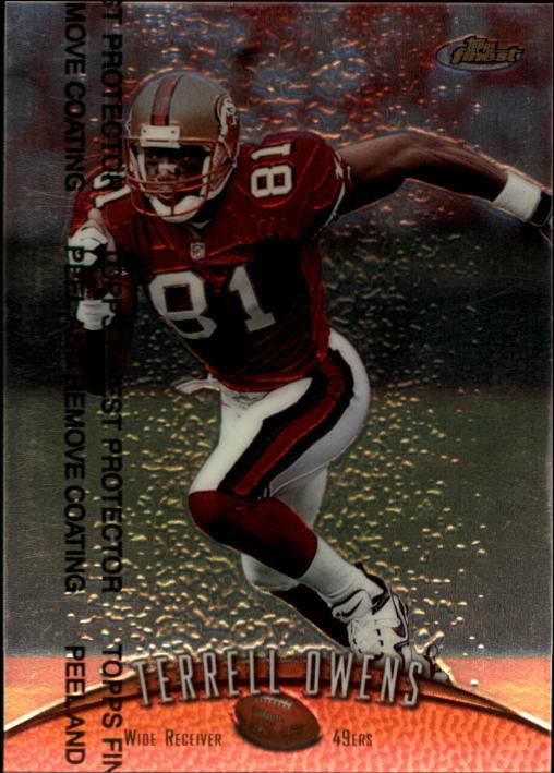 1998 Finest #109 Terrell Owens