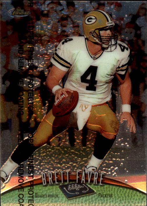 1998 Finest #120 Brett Favre