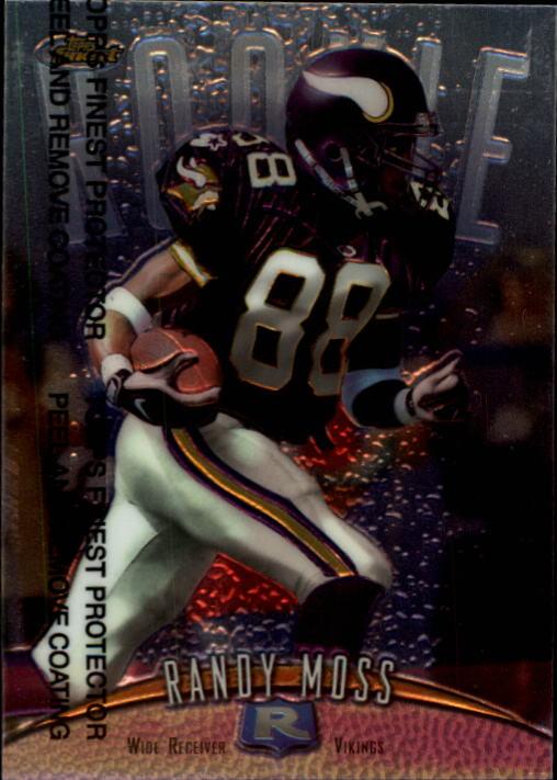 1998 Finest #135 Randy Moss RC