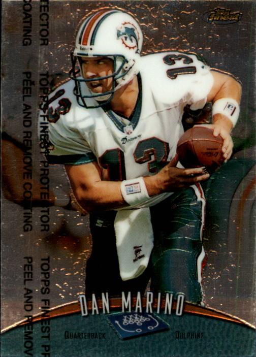 1998 Finest #170 Dan Marino