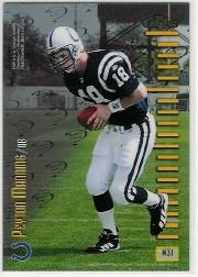 1998 Finest Mystery Finest 2 #M31 P.Manning/P.Manning back image