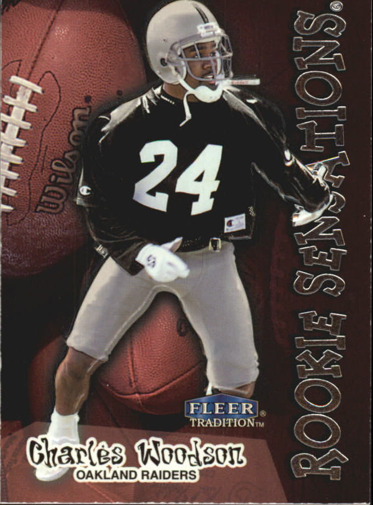 1998 Fleer Tradition Rookie Sensations #15RS Charles Woodson