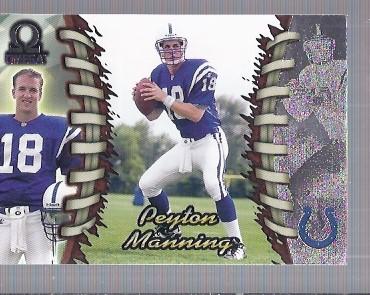 1998 Pacific Omega #101 Peyton Manning RC