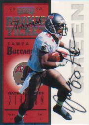 1998 Playoff Contenders Ticket #98 Jacquez Green AU/500*