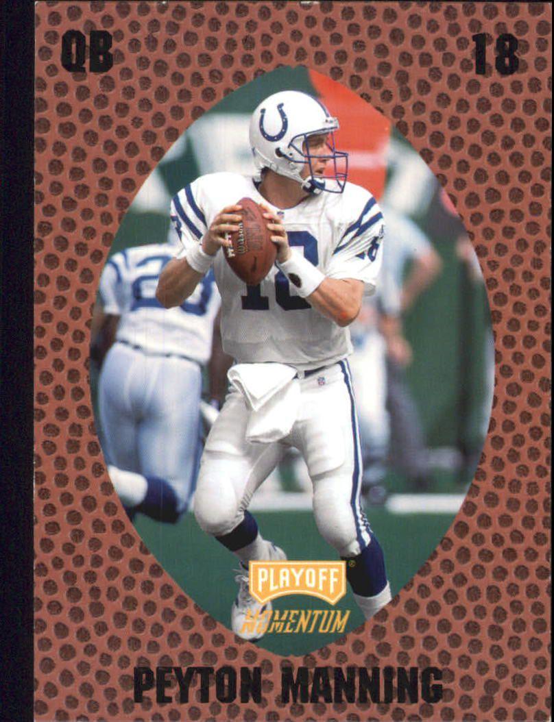 1998 Playoff Momentum Retail #146 Peyton Manning RC