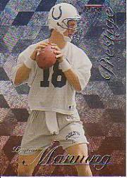 1998 Playoff Prestige Hobby #165 Peyton Manning RC