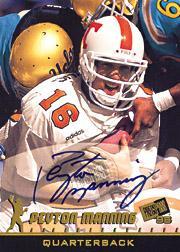 1998 Press Pass Autographs #1 Peyton Manning