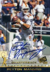 1998 Press Pass Autographs #NNO Peyton Manning SportsFest
