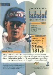1998 Pro Line DC3 #1 Drew Bledsoe back image