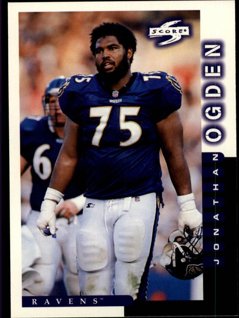 1998 Score #210 Jonathan Ogden