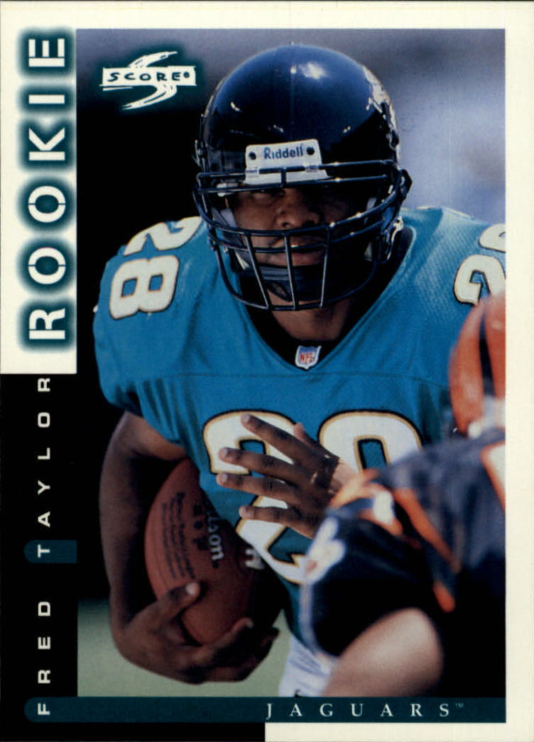 1998 Score #242 Fred Taylor RC