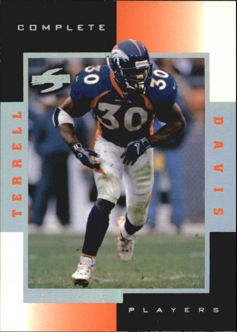 1998 Score Complete Players #7B Terrell Davis