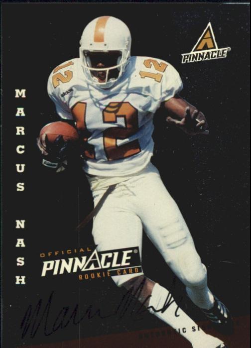 1998 Score Rookie Autographs #26 Marcus Nash