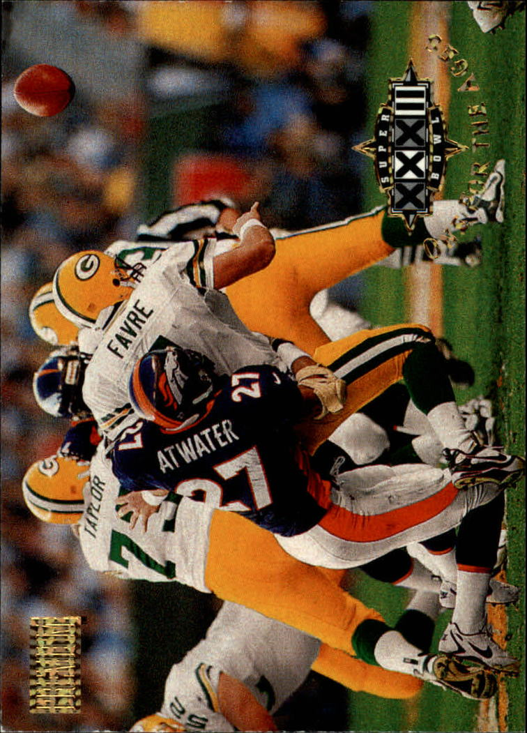 1998 SkyBox Premium #198 Brett Favre/Atwater OFA