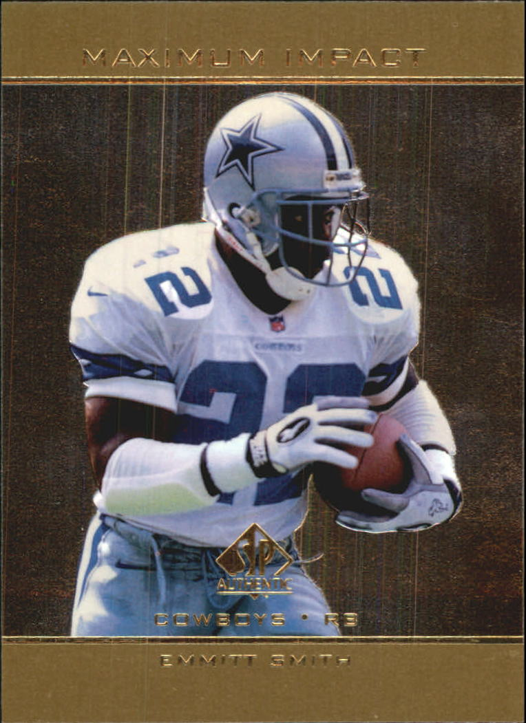 1998 SP Authentic Maximum Impact #SE27 Emmitt Smith