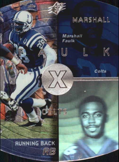 1998 SPx #20 Marshall Faulk