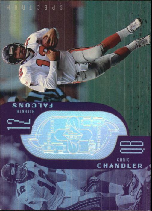 1998 SPx Finite Spectrum #194 Chris Chandler