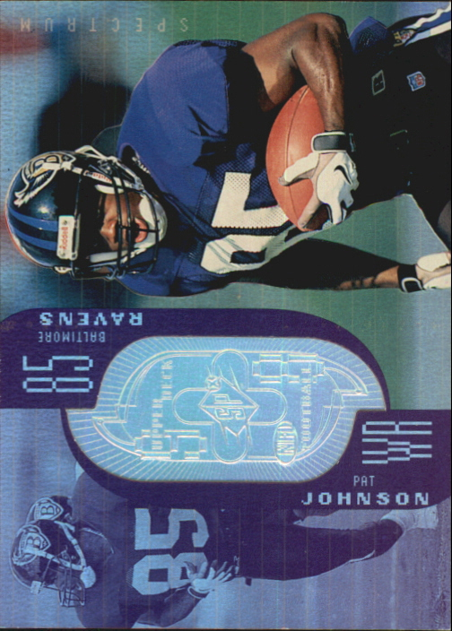 1998 SPx Finite Spectrum #199 Pat Johnson