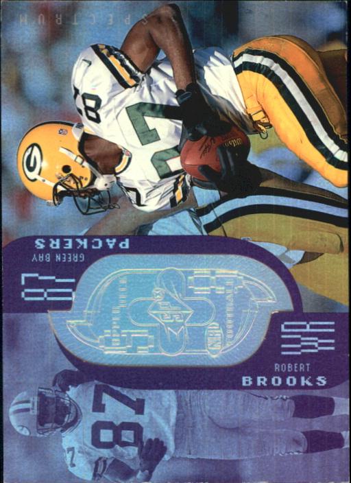 1998 SPx Finite Spectrum #222 Robert Brooks