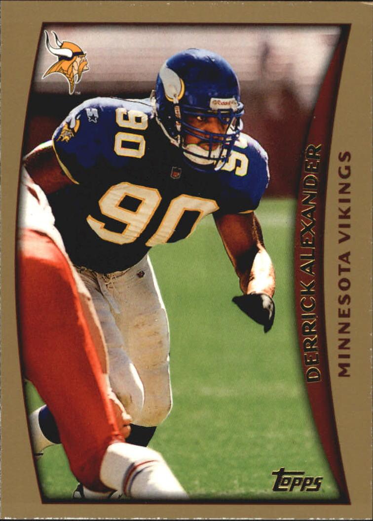 1998 Topps #95 Derrick Alexander DE