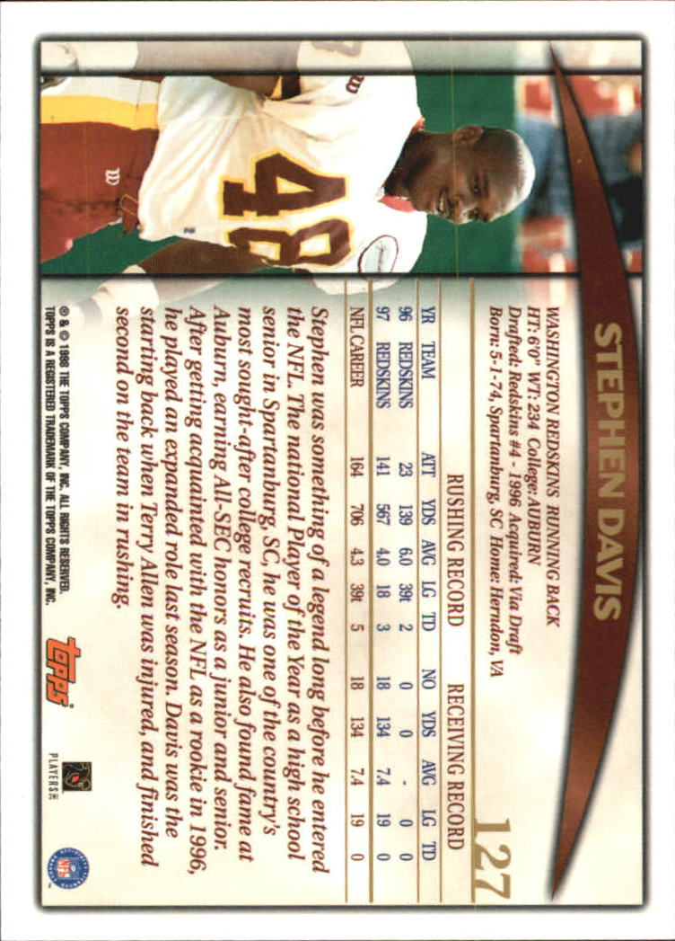 1998-Topps-Football-Base-Singles-119-347-Pick-Your-Cards