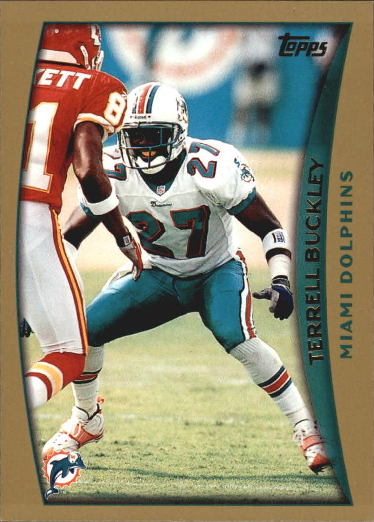 1998 Topps #265 Terrell Buckley