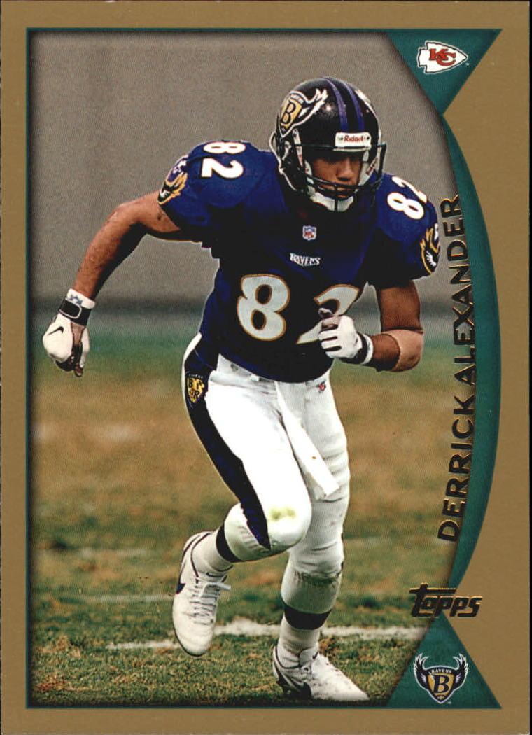 1998 Topps #316 Derrick Alexander WR