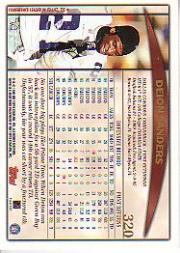 1998 Topps #320 Deion Sanders back image
