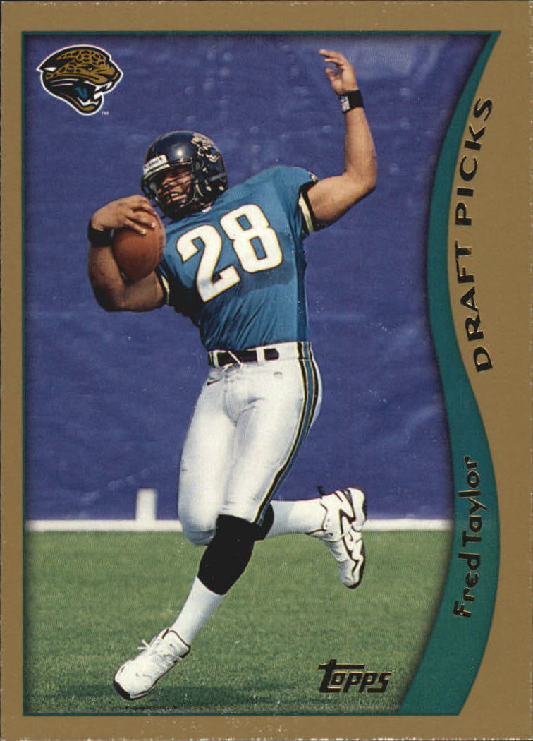 1998 Topps #339 Fred Taylor RC