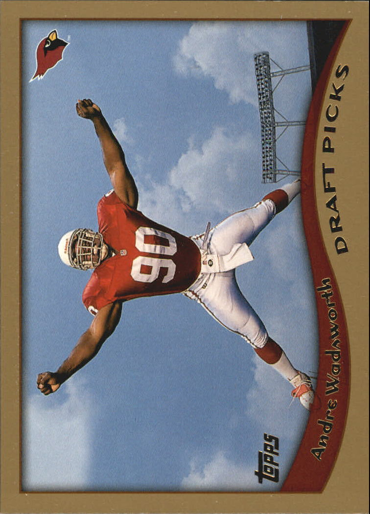 1998 Topps #353 Andre Wadsworth RC