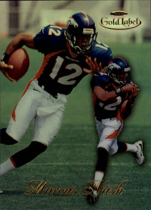 1998 Topps Gold Label Class 1 #13 Marcus Nash RC