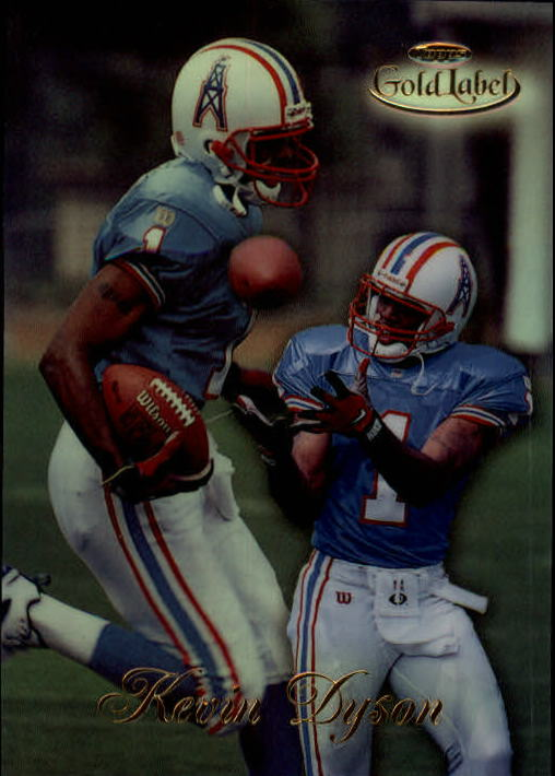 1998 Topps Gold Label Class 1 #19 Kevin Dyson RC
