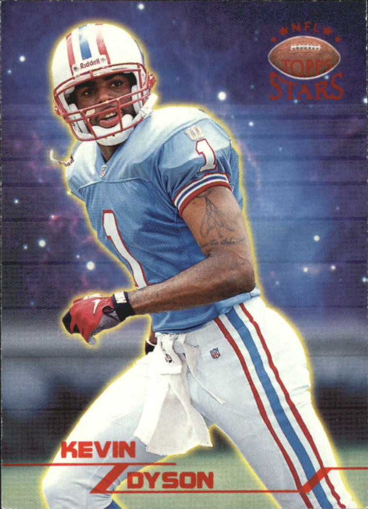 1998 Topps Stars #19 Kevin Dyson RC