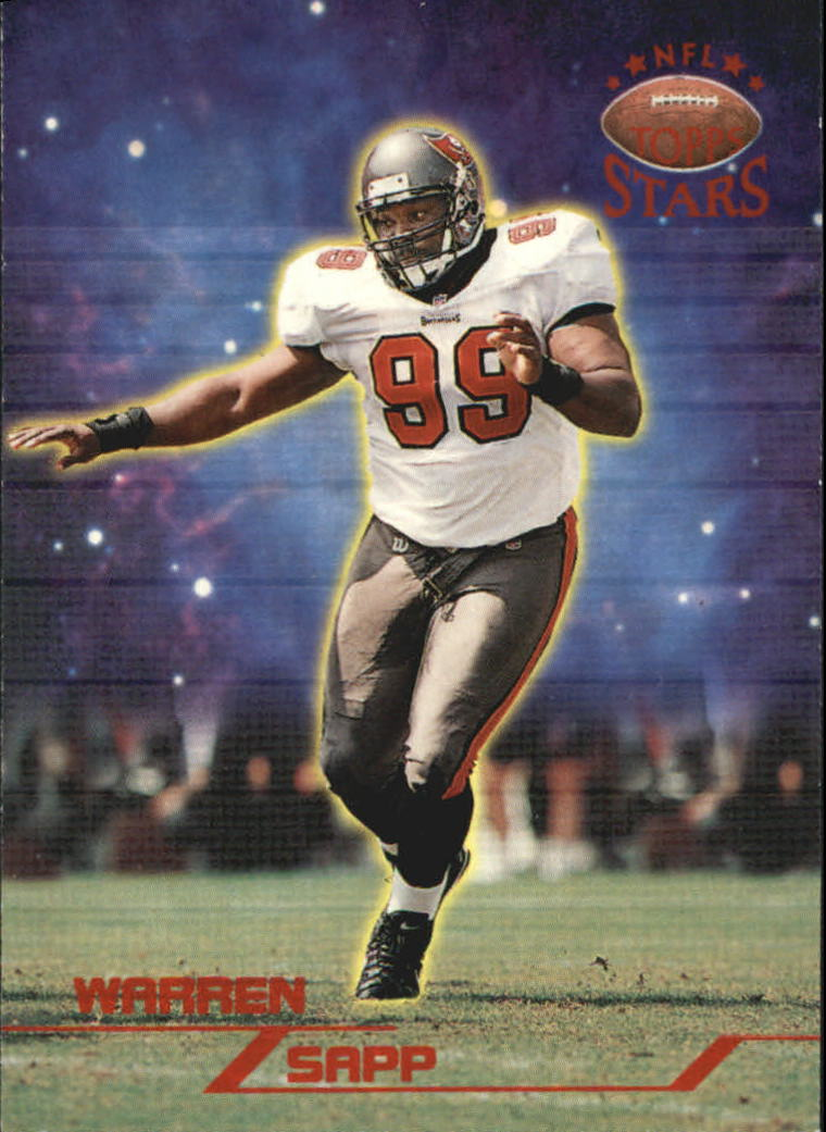 1998 Topps Stars #37 Warren Sapp