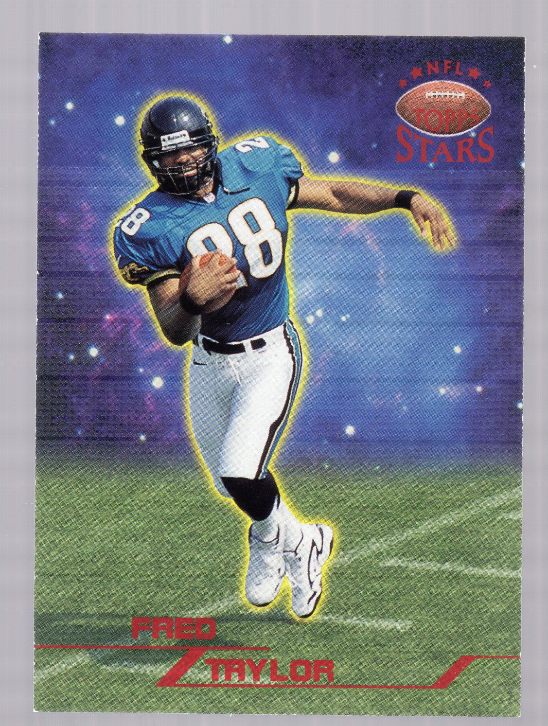 1998 Topps Stars #46 Fred Taylor RC