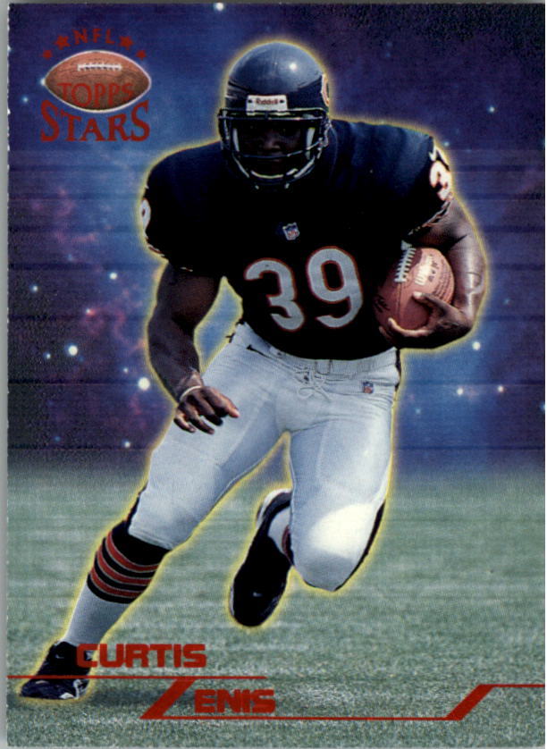 1998 Topps Stars #62 Curtis Enis RC