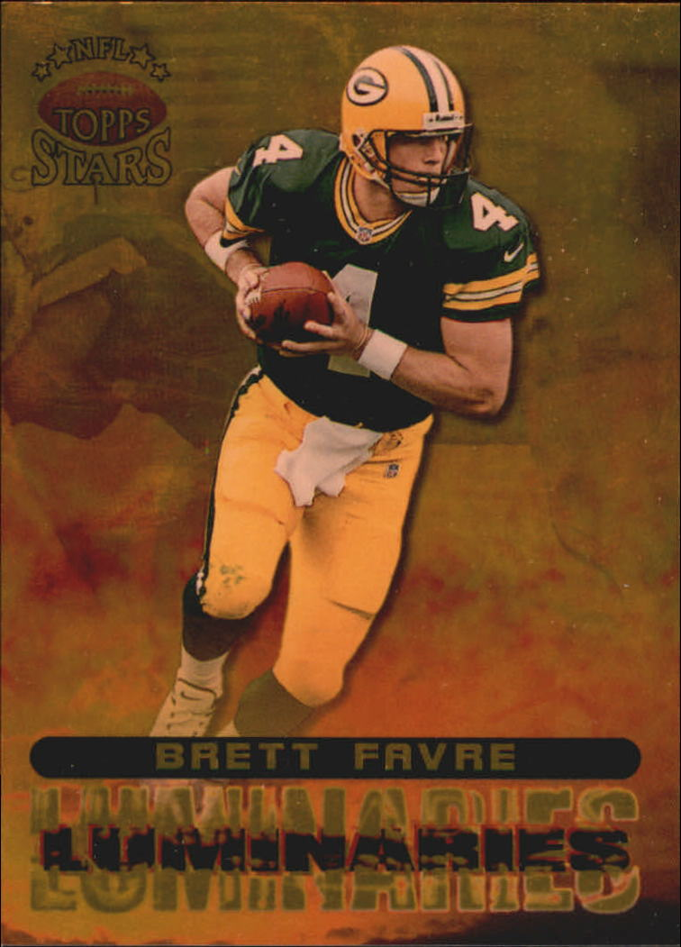 1998 Topps Stars Luminaries #L1 Brett Favre