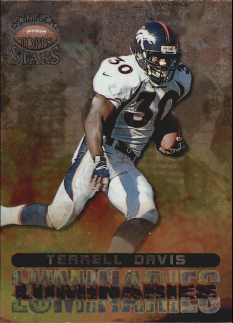 1998 Topps Stars Luminaries #L5 Terrell Davis