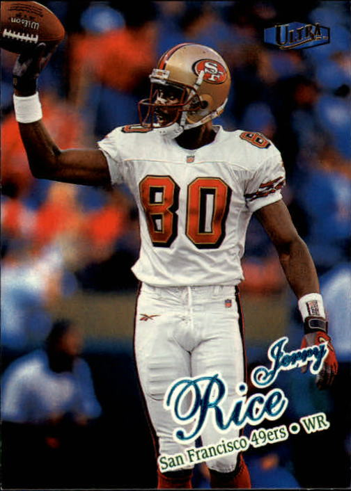 1998 Ultra #58 Jerry Rice