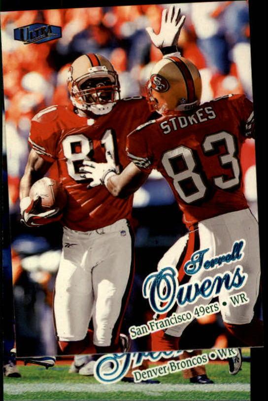 1998 Ultra #145 Terrell Owens