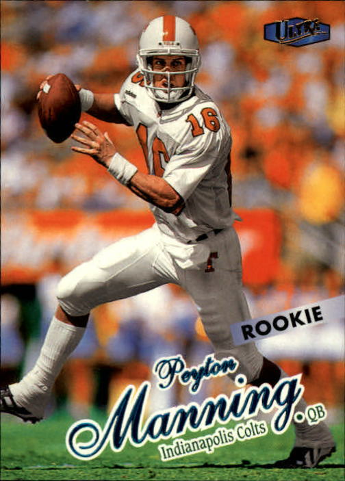 1998 Ultra #201 Peyton Manning RC