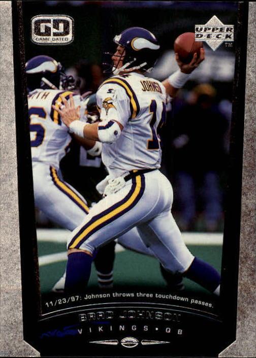 1998 Upper Deck #147 Brad Johnson