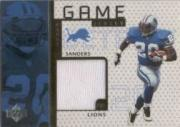 1998 Upper Deck Game Jerseys #GJ3 Barry Sanders