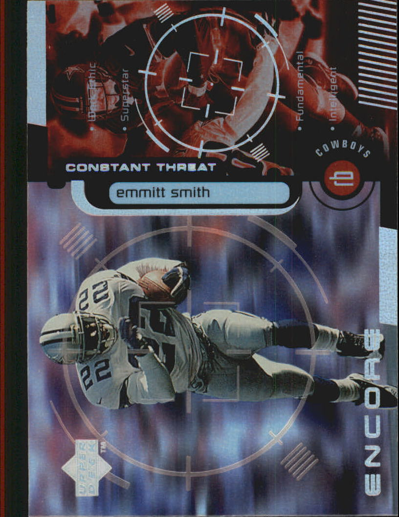 1998 Upper Deck Encore Constant Threat #CT11 Emmitt Smith