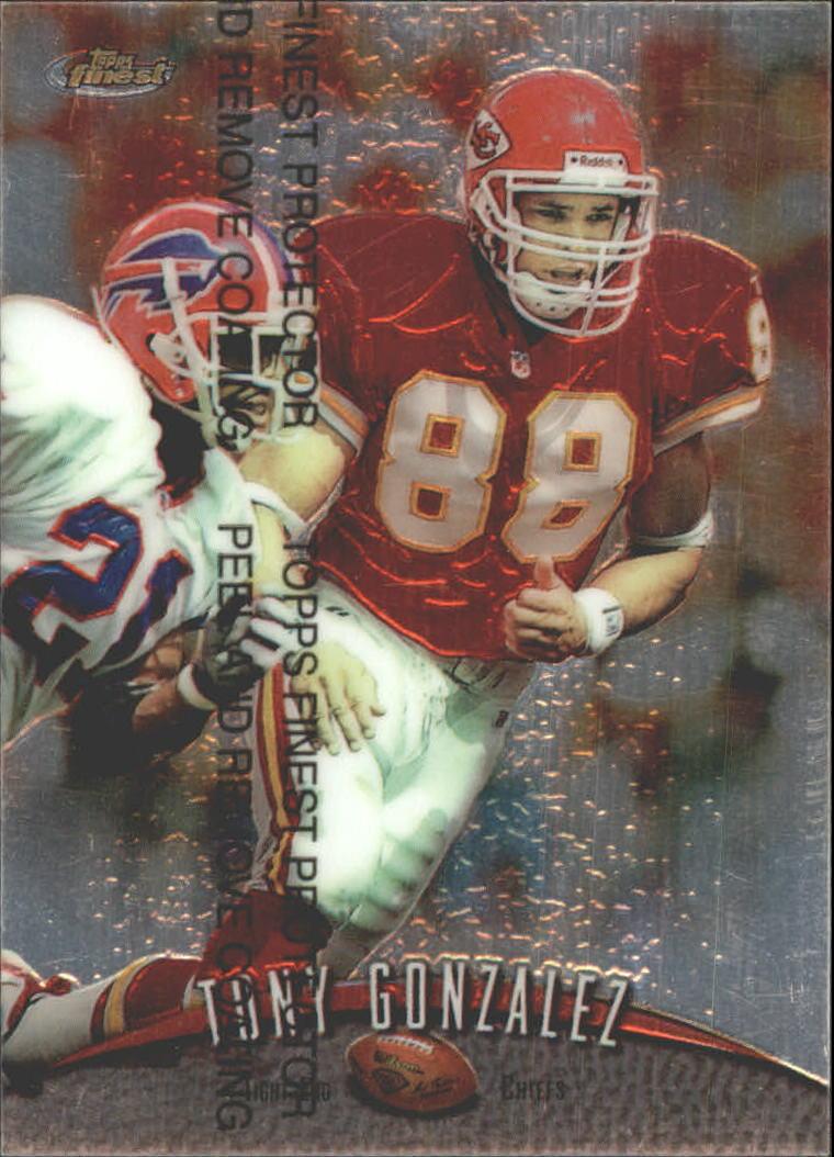 1998 Finest Promos #PP3 Tony Gonzalez