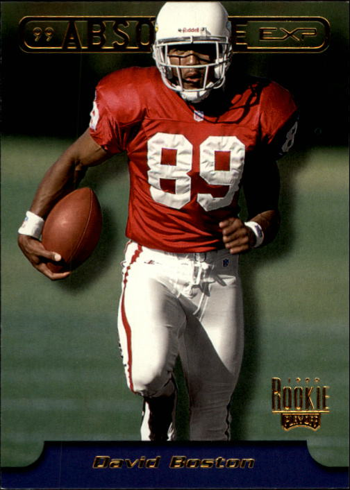 1999 Absolute EXP #8 David Boston RC